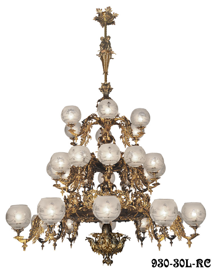 This Large Victorian Rococo Chandelier Is Our Newest Neo Creation From The Mid Gasolier Era Early American Gas Lighting Fixtures